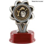 2 Insert Holder Resin Baseball Trophy Awards