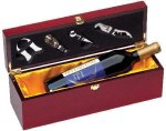 Rosewood Single Bottle Box Boss Gift Awards