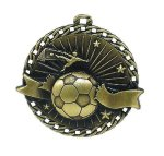 Soccer Burst Thru Medal Burst Thru Medal Awards