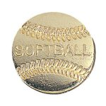 Softball Chenille Pin Chenille Lapel Pins