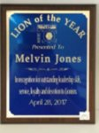 Lion of the Year Lions Club Products