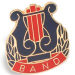 Band Chenille Pin Music Trophy Awards