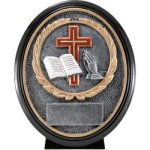 Christian Resin Oval Oval Resin Trophy Awards