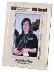 Silver & Glass Picture Frame Award Secretary Gift Awards