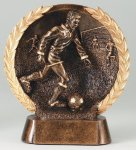 Resin Plate Soccer Mini Soccer Trophy Awards