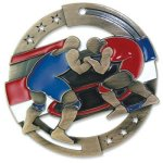 Enamel Wrestling Wrestling Trophy Awards